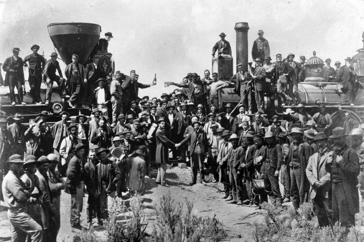 5 quotes about the Golden Spike and the historic completion of the Transcontinental  Railroad - Deseret News
